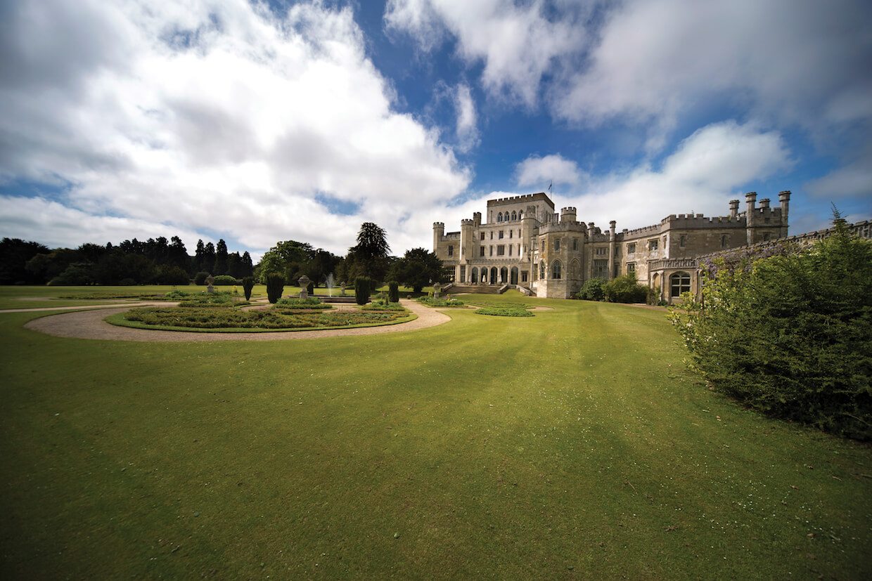 The East View of Ashridge House